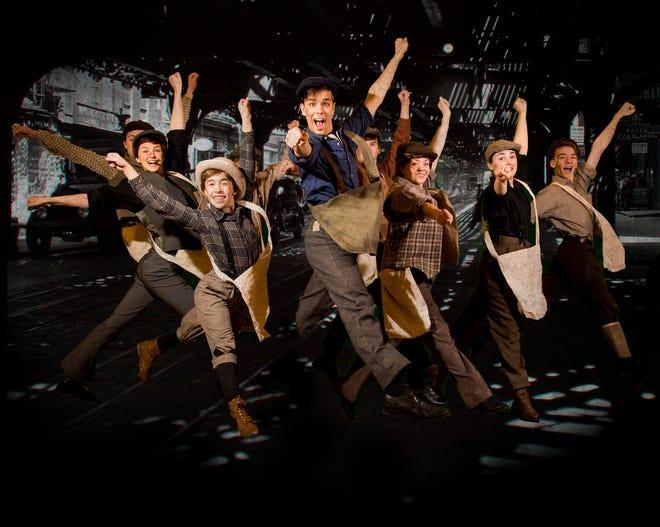 "ShowKids Invitational Theatre (SKIT) presents ""Newsies"" the musical, Jan.19 to 27 at Voorhees High School."