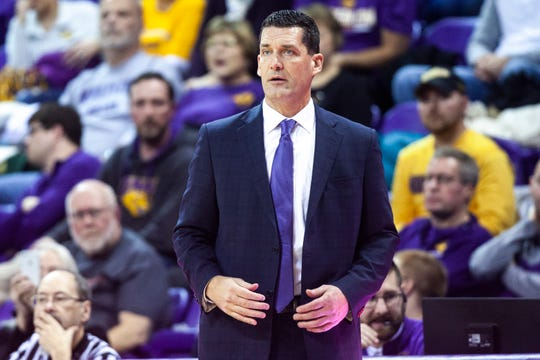 Ben Jacobson and the Northern Iowa Panthers had their hands full against Southern Illinois Sunday at the McLeod Center in Cedar Falls.