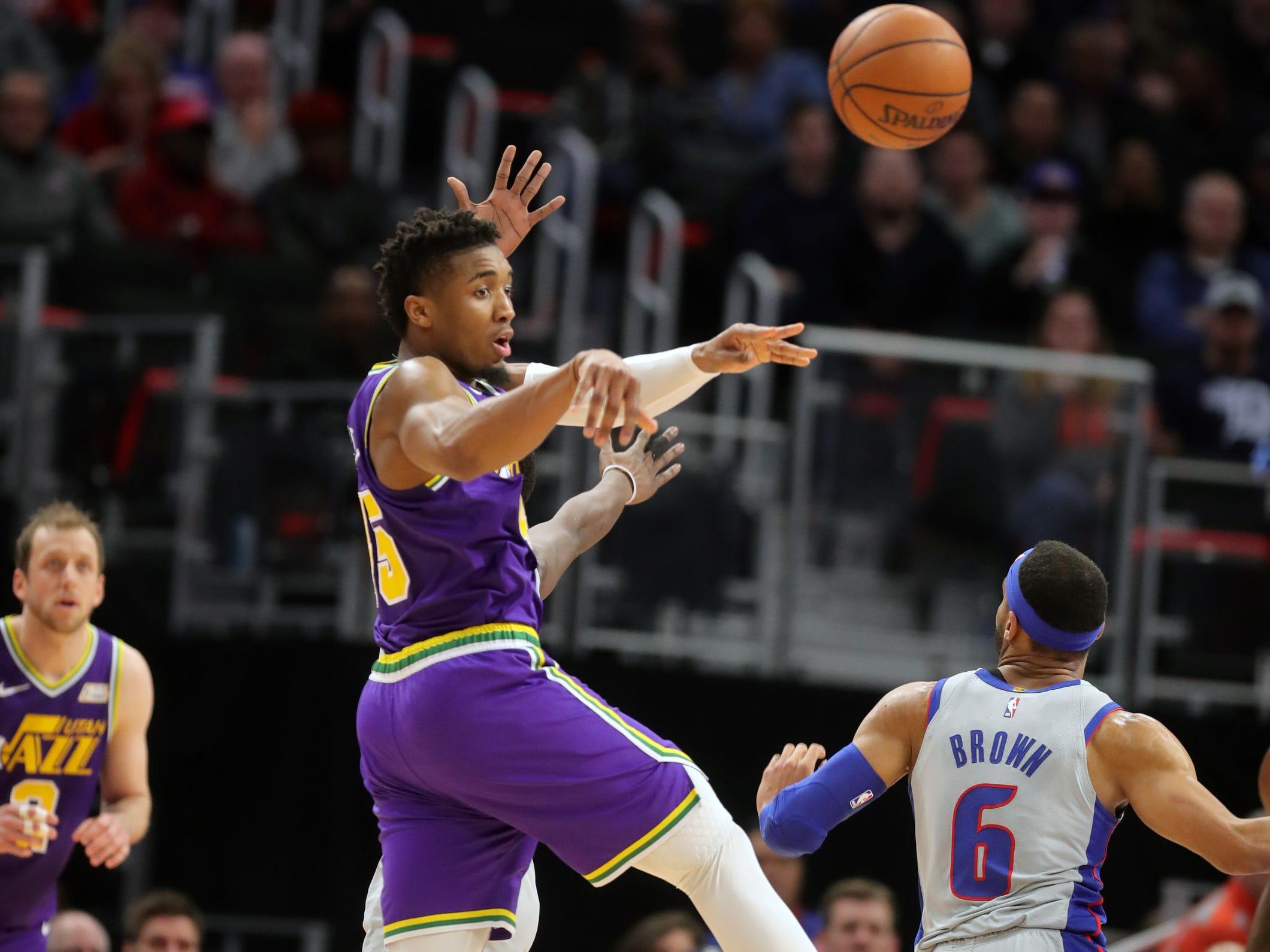 Detroit Pistons turnovers, bench struggles lead to Utah Jazz loss