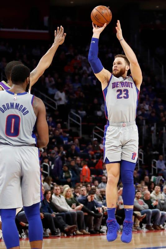 Nba Utah Jazz At Detroit Pistons