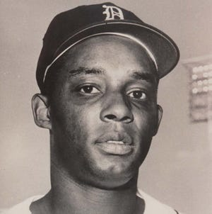 Lenny Green played 58 games for the Tigers in 1967.