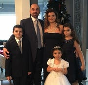 Issam Abbas, Dr. Rima Abbas, and their 3 children Ali, 14, Isabelle, 13, and Giselle, 7, from Northville, died in a traffic accident while traveling on I-75 in Lexington, KY, January 6, 2019.  Undated handout photo courtesy of the Abbas family.
