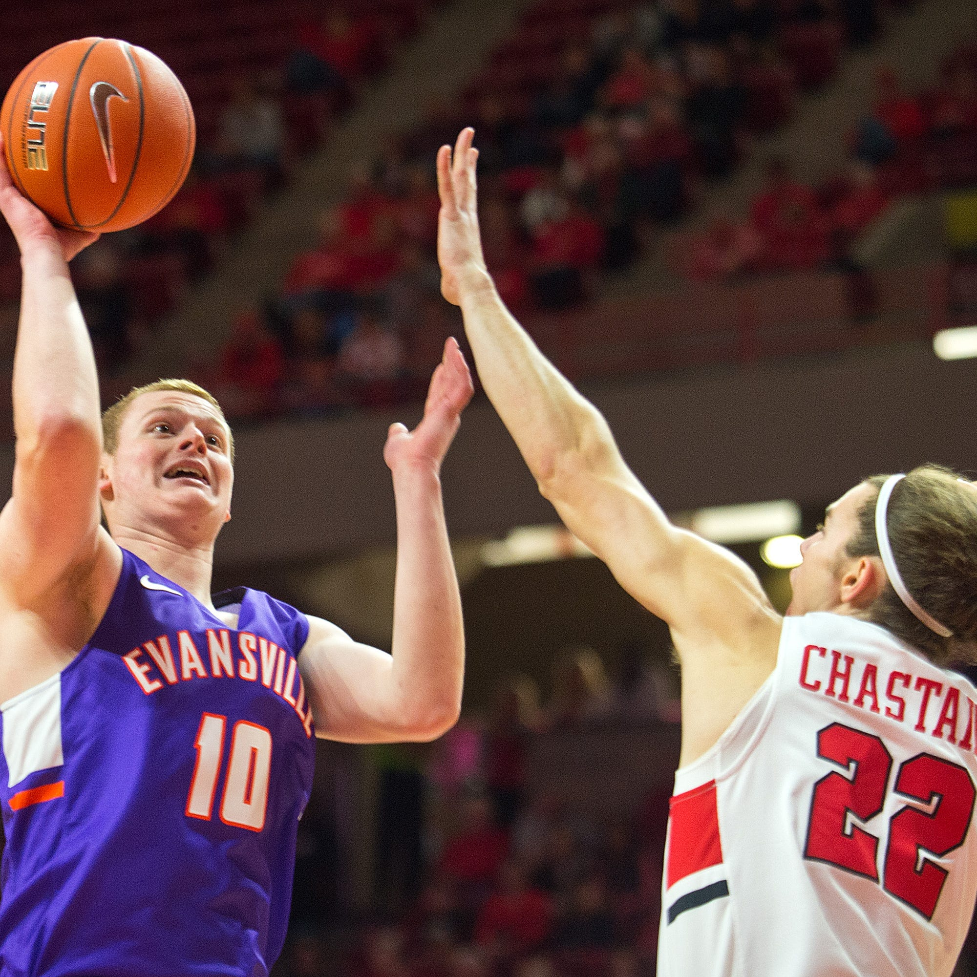 Evansville basketball sputters offensively on the road in loss to Illinois State