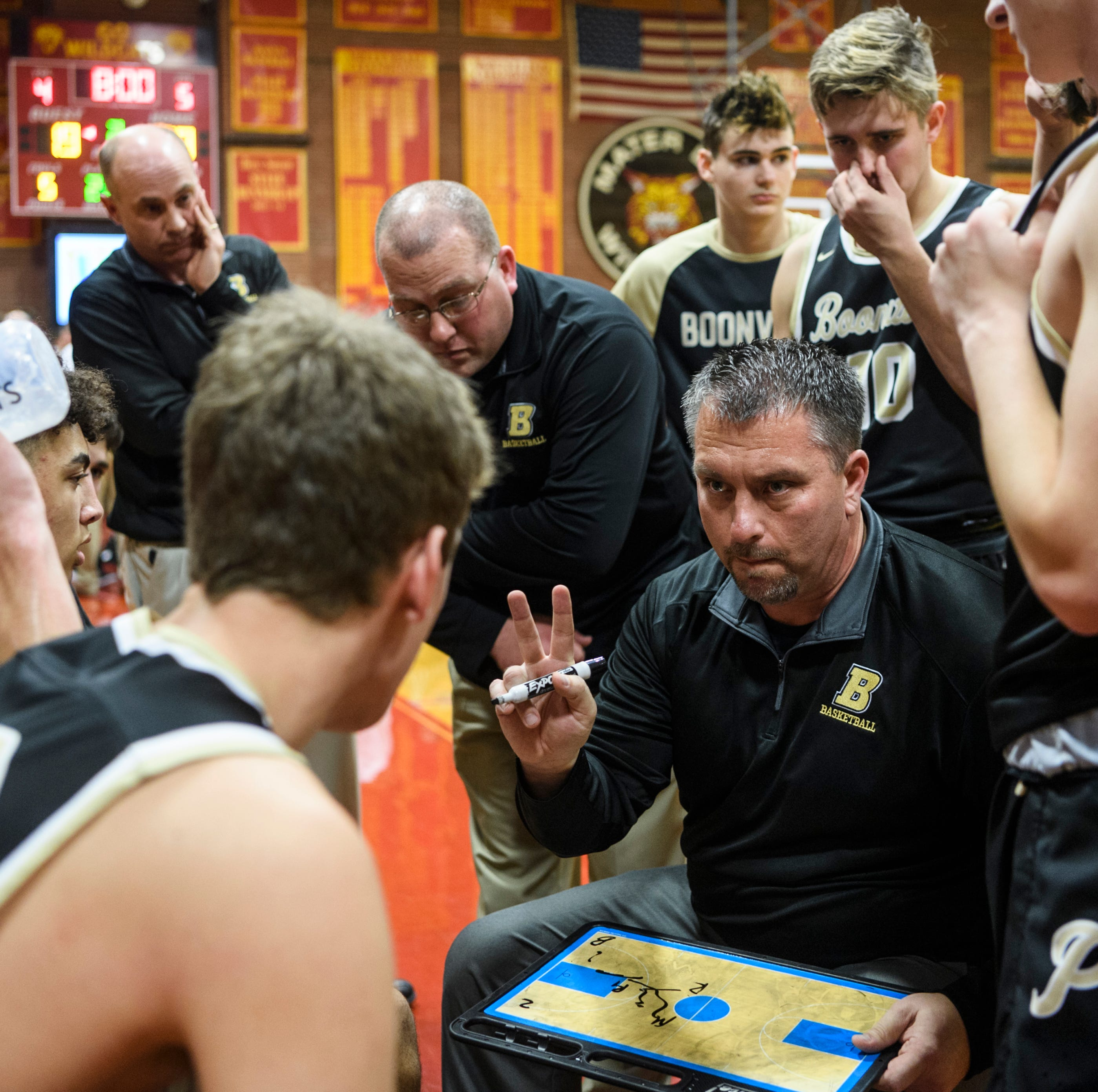 Brian Schoonover steps down as Boonville boys basketball coach