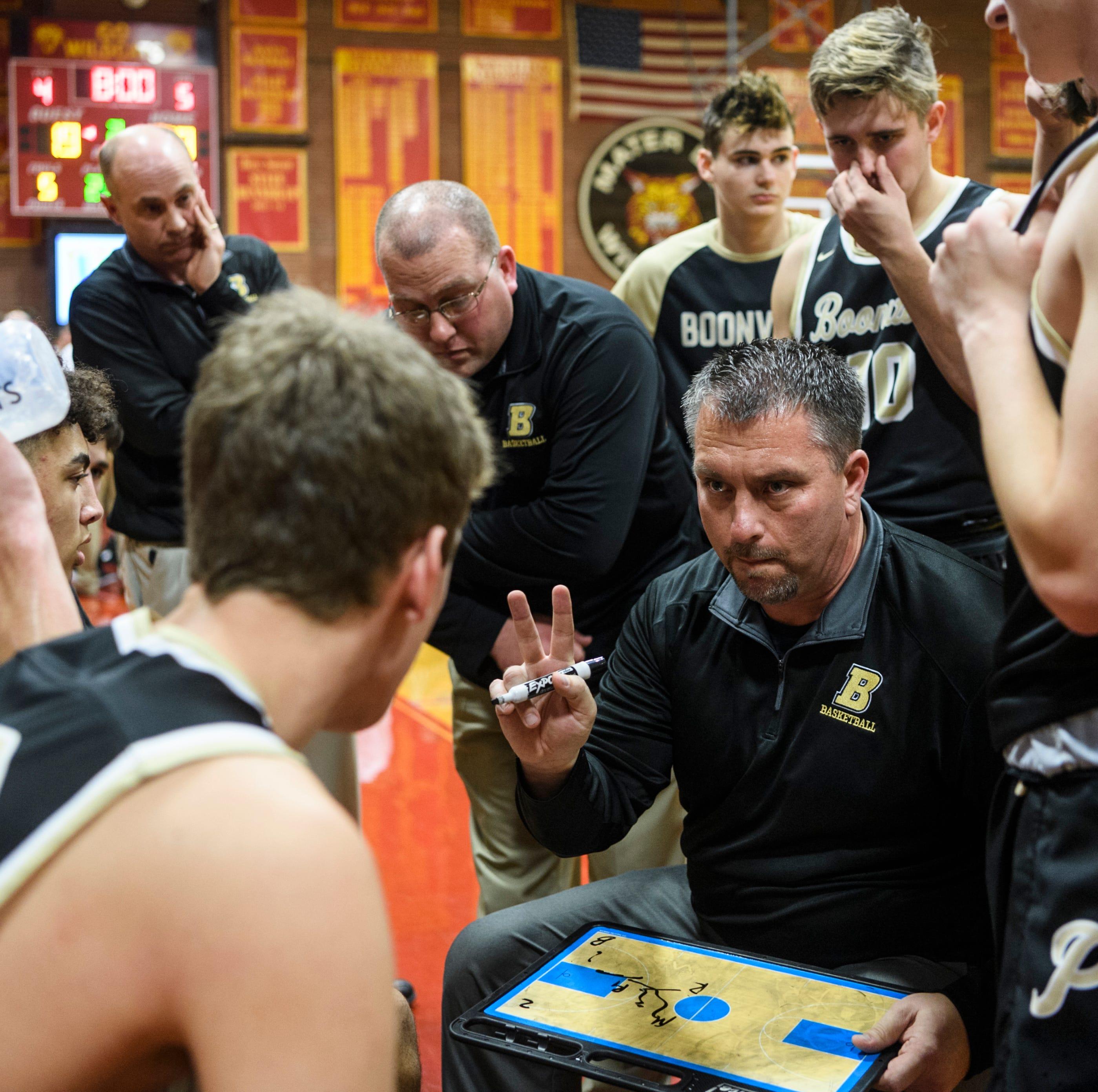 Brian Schoonover steps down as Boonville boys basketball coach
