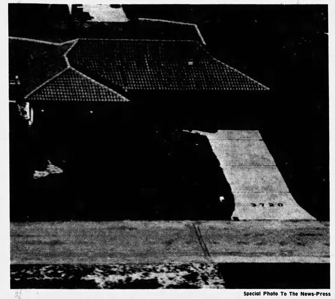 In 1976, as part of Operation Help to assist emergency responders in finding addresses, Cape Coral house numbers were painted on driveways in letters big enough to be visible from the air.