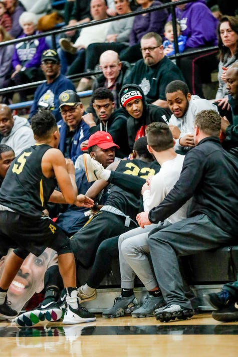 Brownsburg Takes On Rival Avon In 2019 Hendricks County Basketball Tournament