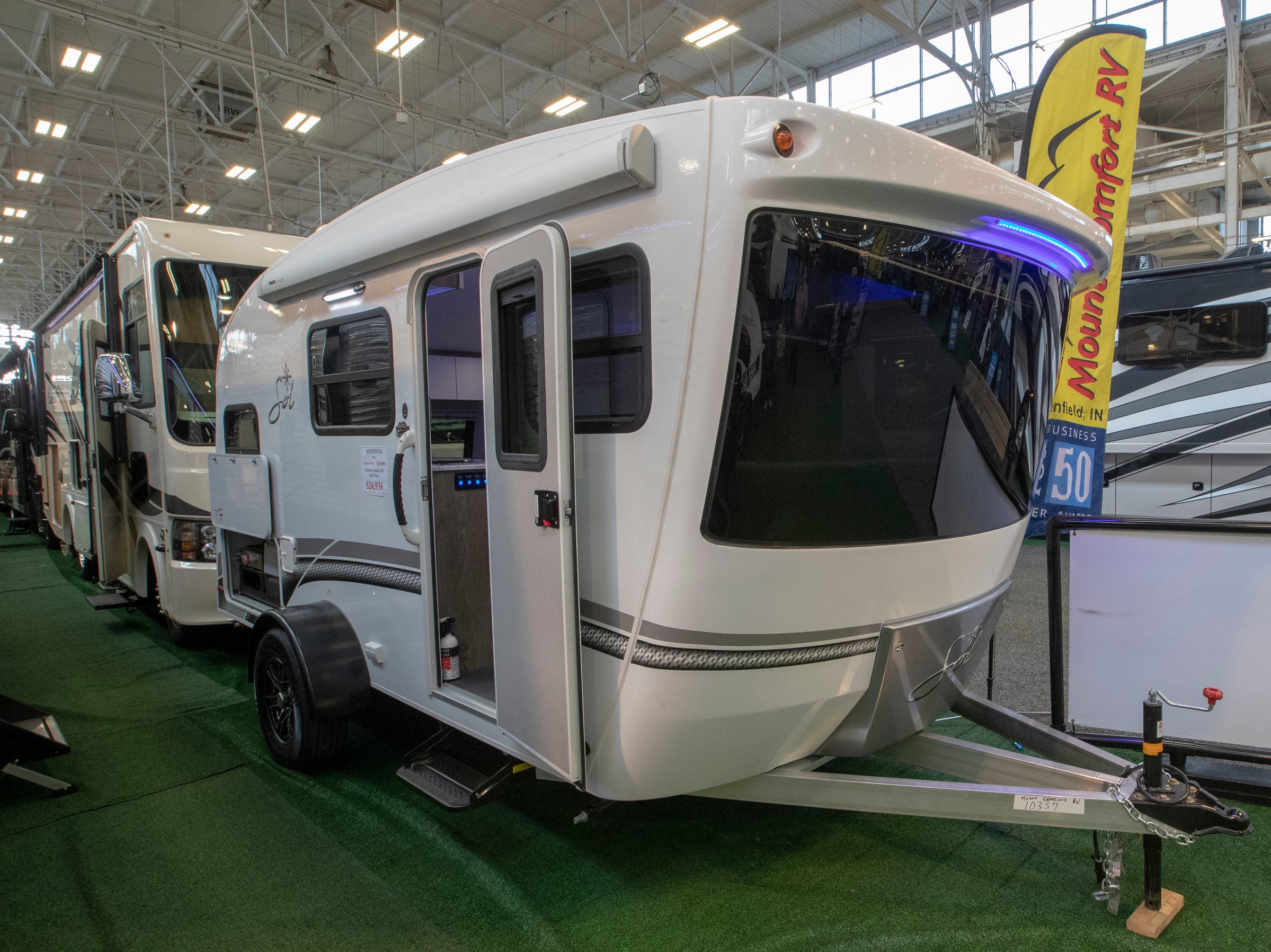 Indy RV Expo, Indiana State Fairgrounds, Indianapolis, Sunday, January 6, 2019. The show runs through the 13th.