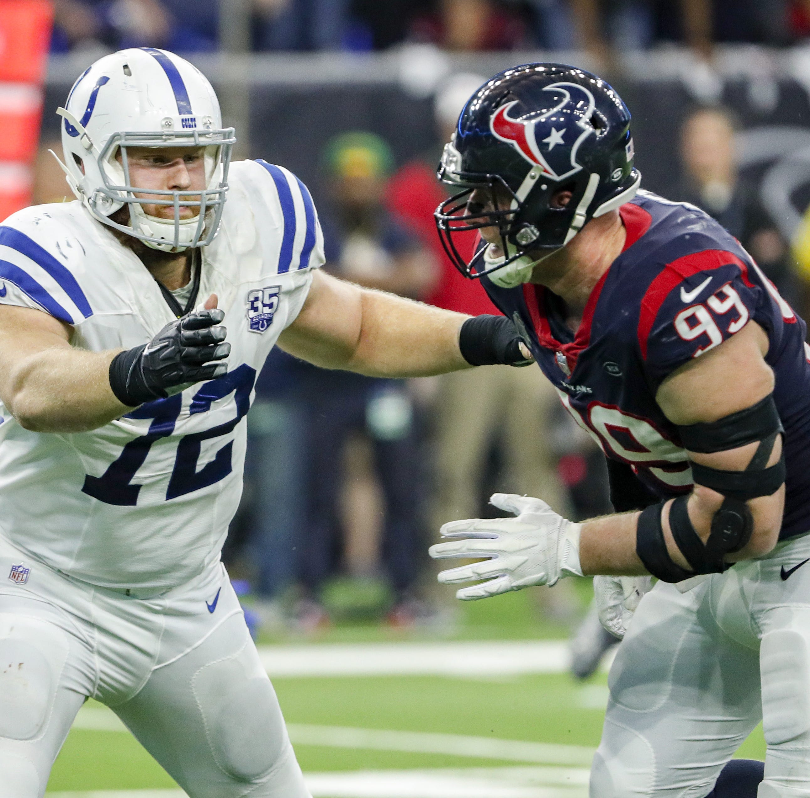 Colts tackle Braden Smith married longtime girlfriend in South Carolina