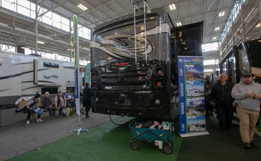 Camping From Rustic To Luxe At Rv Show
