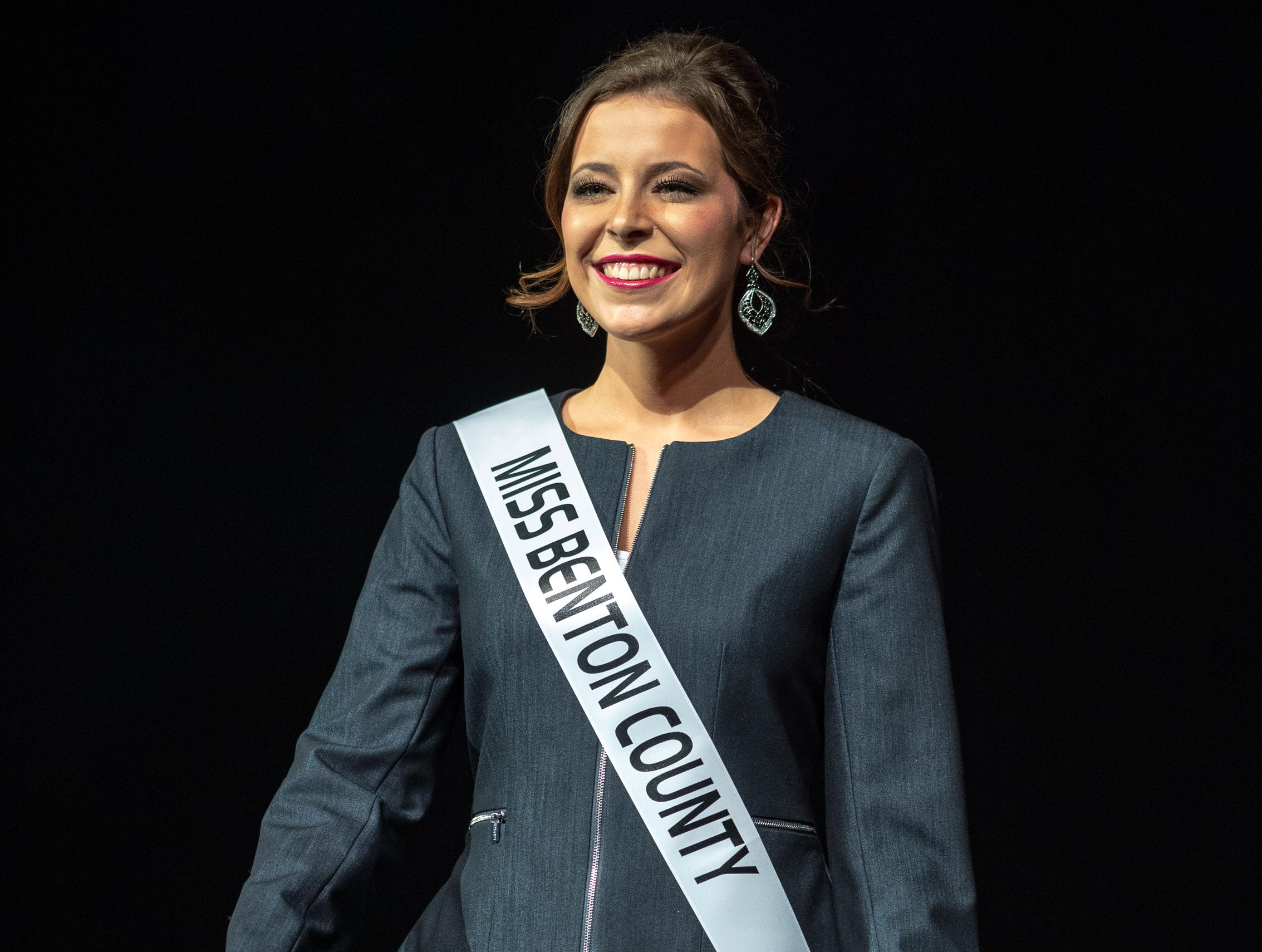 Miss Benton County, Halle Shoults, was crowned the 2019 Indiana State Fair Queen during the 61st Indiana State Fair Queen Pageant at the Indiana State Fairgrounds in Indianapolis on Sunday, Jan. 6, 2019.
