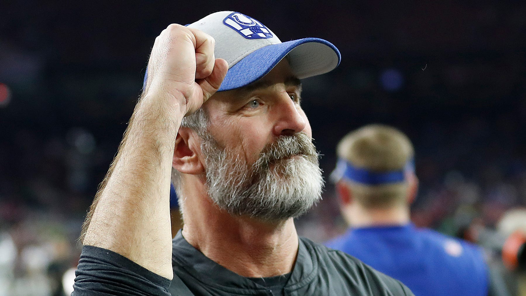 Indianapolis Colts head coach Frank Reich...