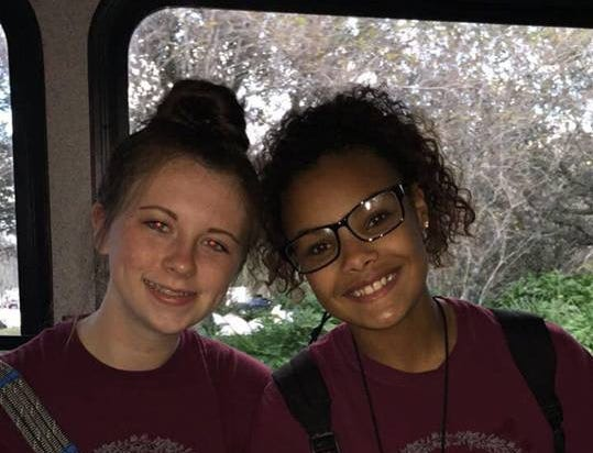 Kailee Cosset and Trinity Murrell