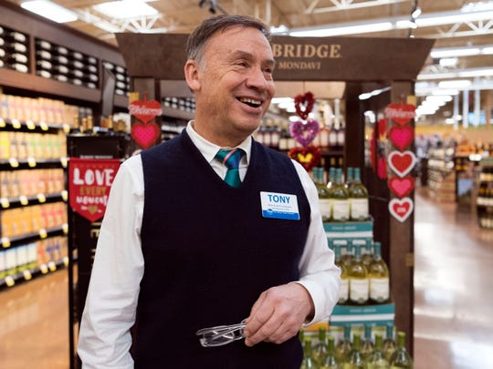 """We are very appreciative of the General Assembly passing this bill,"" said Tony Lee, wine and spirits coordinator at the Kroger Marketplace in Farragut. Sunday wine sales in Tennessee grocery stores began Jan. 6."