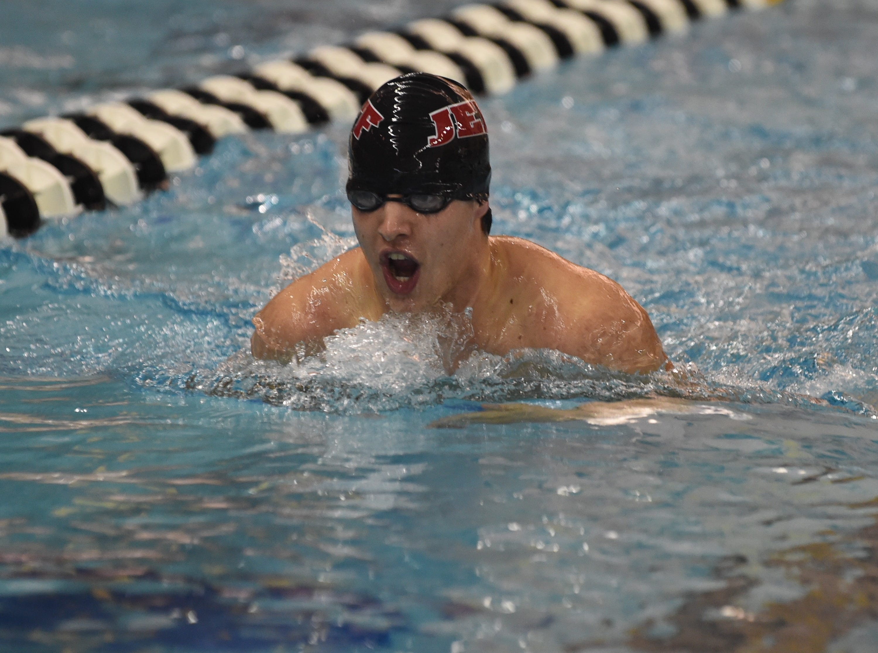 Images from Saturday's North Central Conference Swimming and Diving Championships at Purdue. Cole Martin.