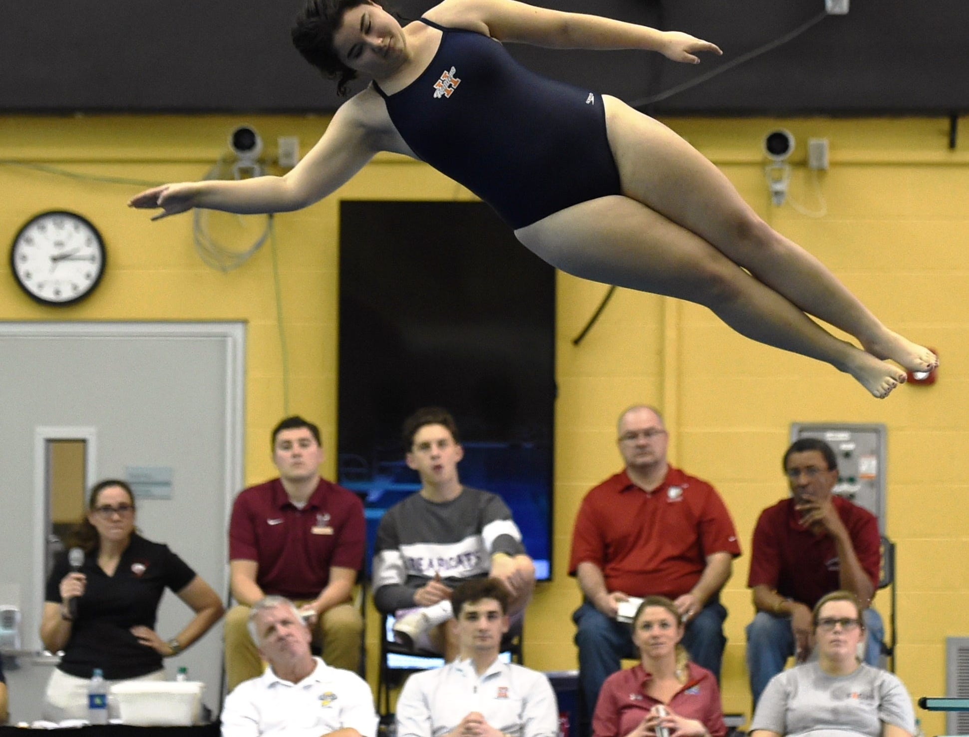 Images from Saturday's North Central Conference Swimming and Diving Championships at Purdue. Lauren Smith.