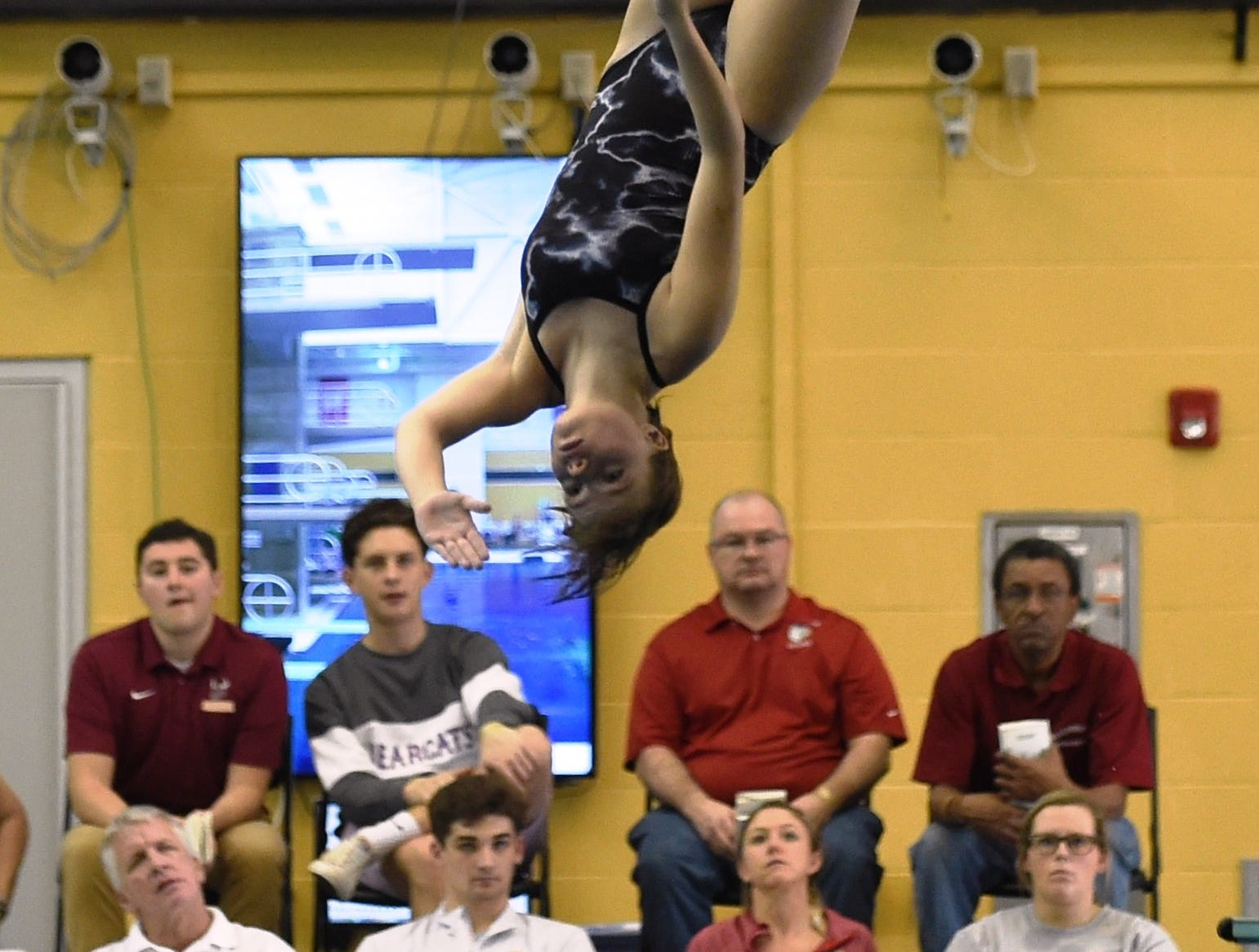 Images from Saturday's North Central Conference Swimming and Diving Championships at Purdue. Lydia Fox.