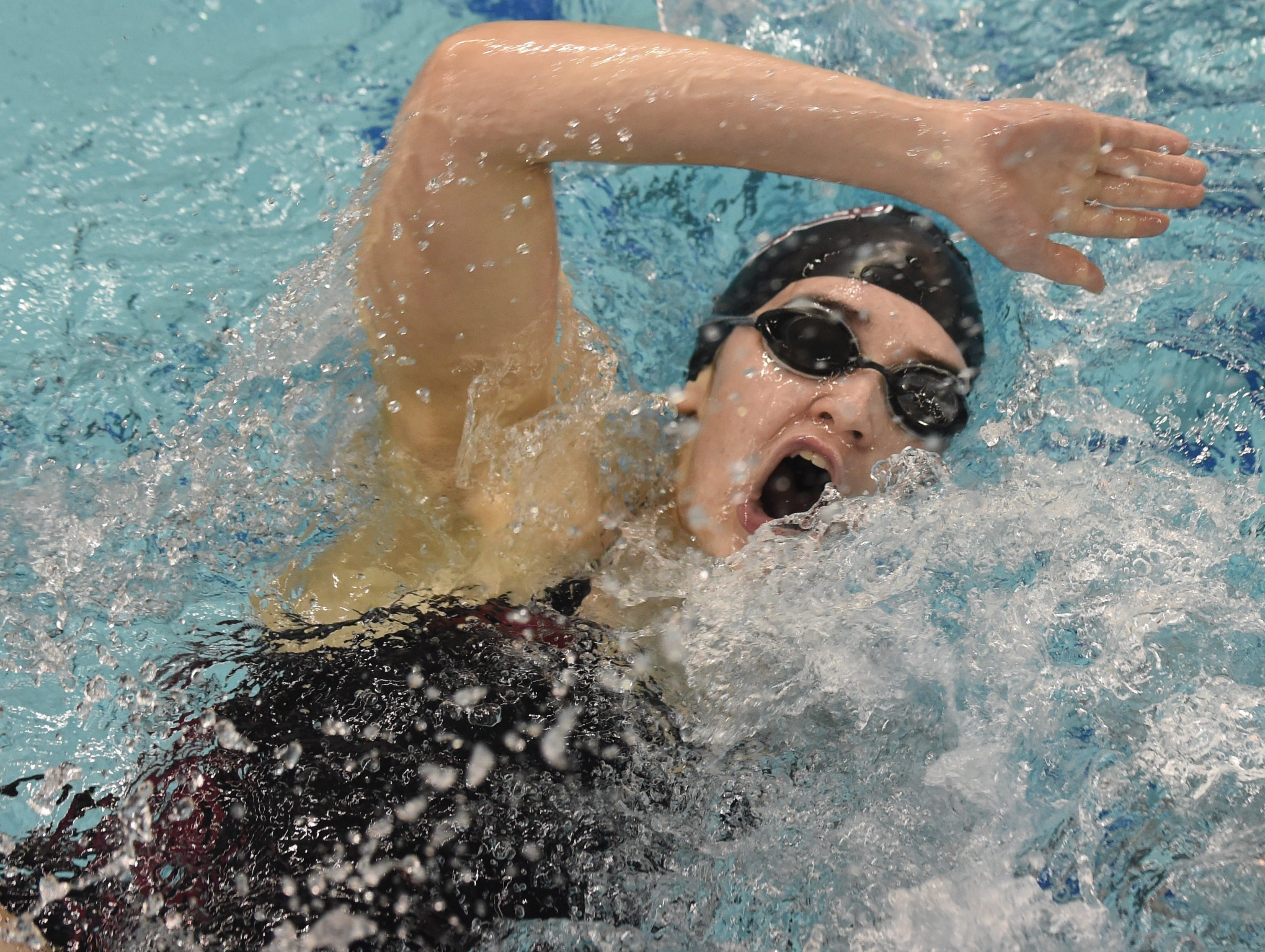 Images from Saturday's North Central Conference Swimming and Diving Championships at Purdue. Abigail Saunders.
