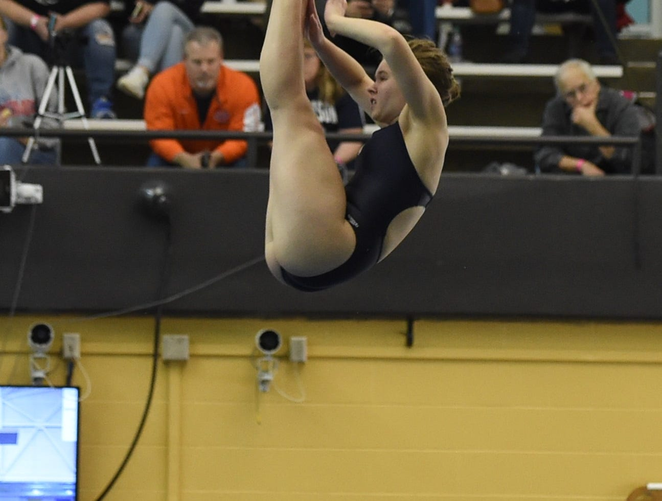 Images from Saturday's North Central Conference Swimming and Diving Championships at Purdue. Alexa Buckley.