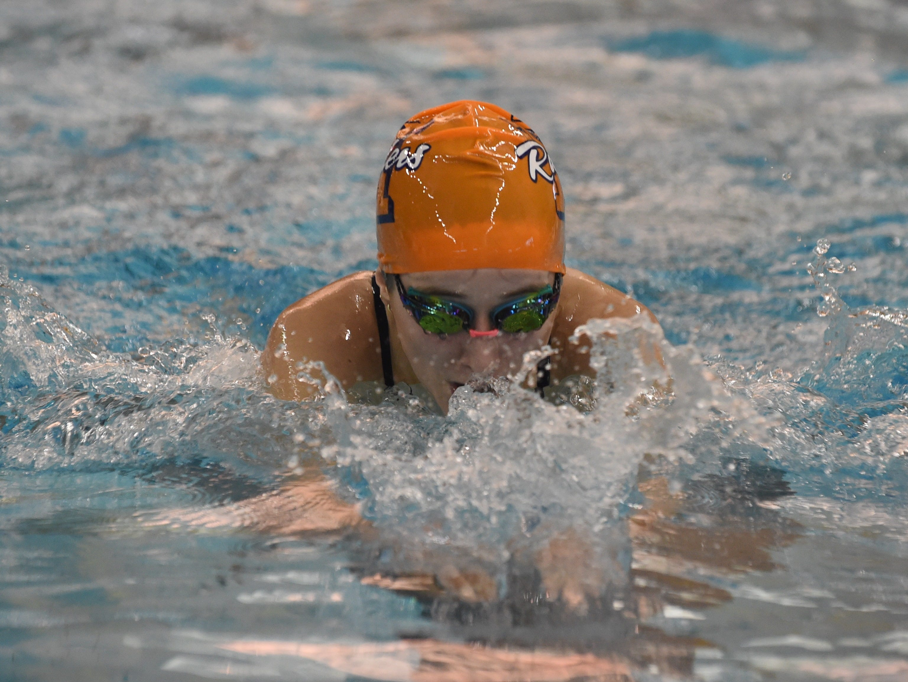 Images from Saturday's North Central Conference Swimming and Diving Championships at Purdue. Madda Dewitt.