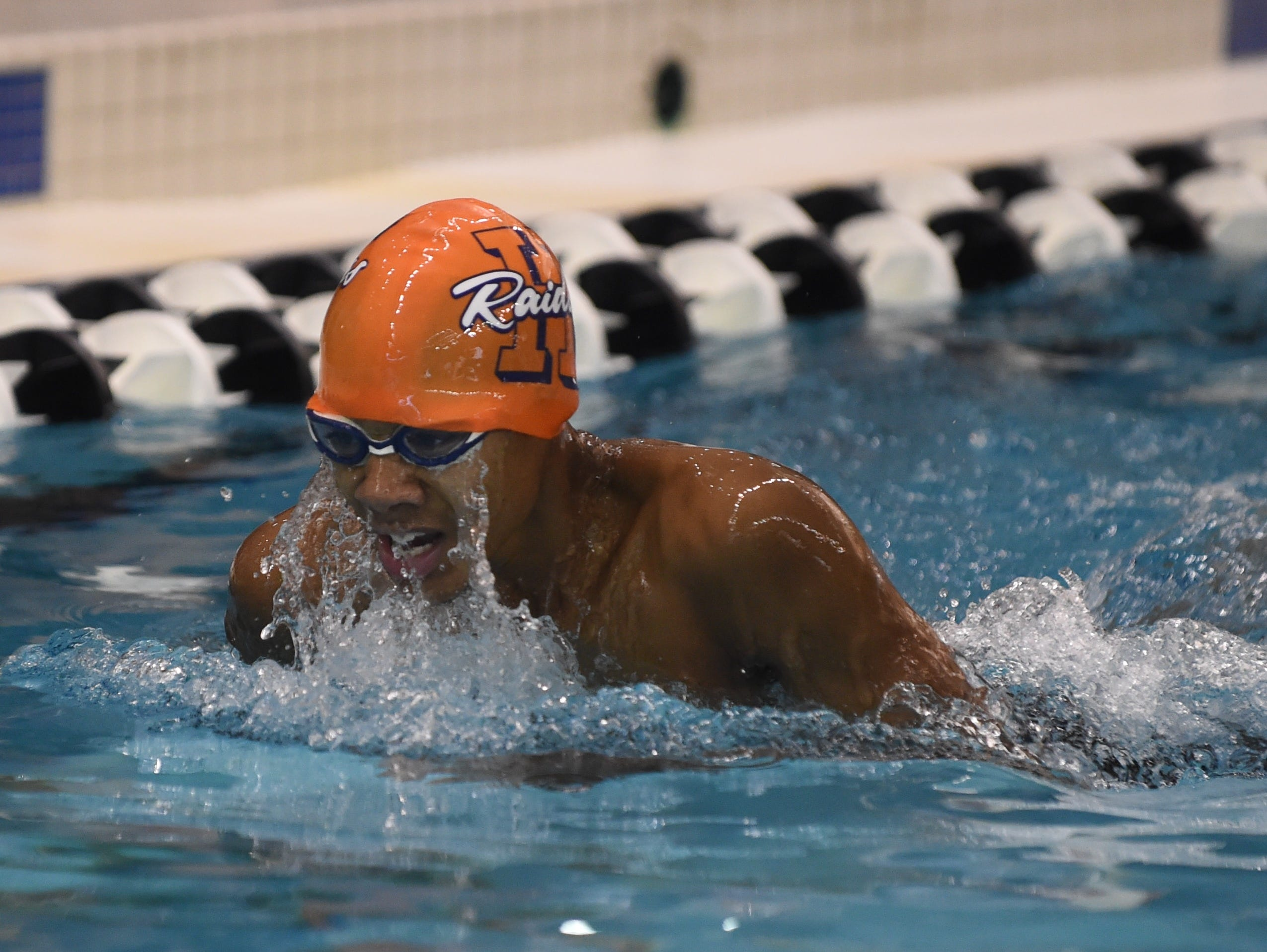 Images from Saturday's North Central Conference Swimming and Diving Championships at Purdue. Malakai Strong.