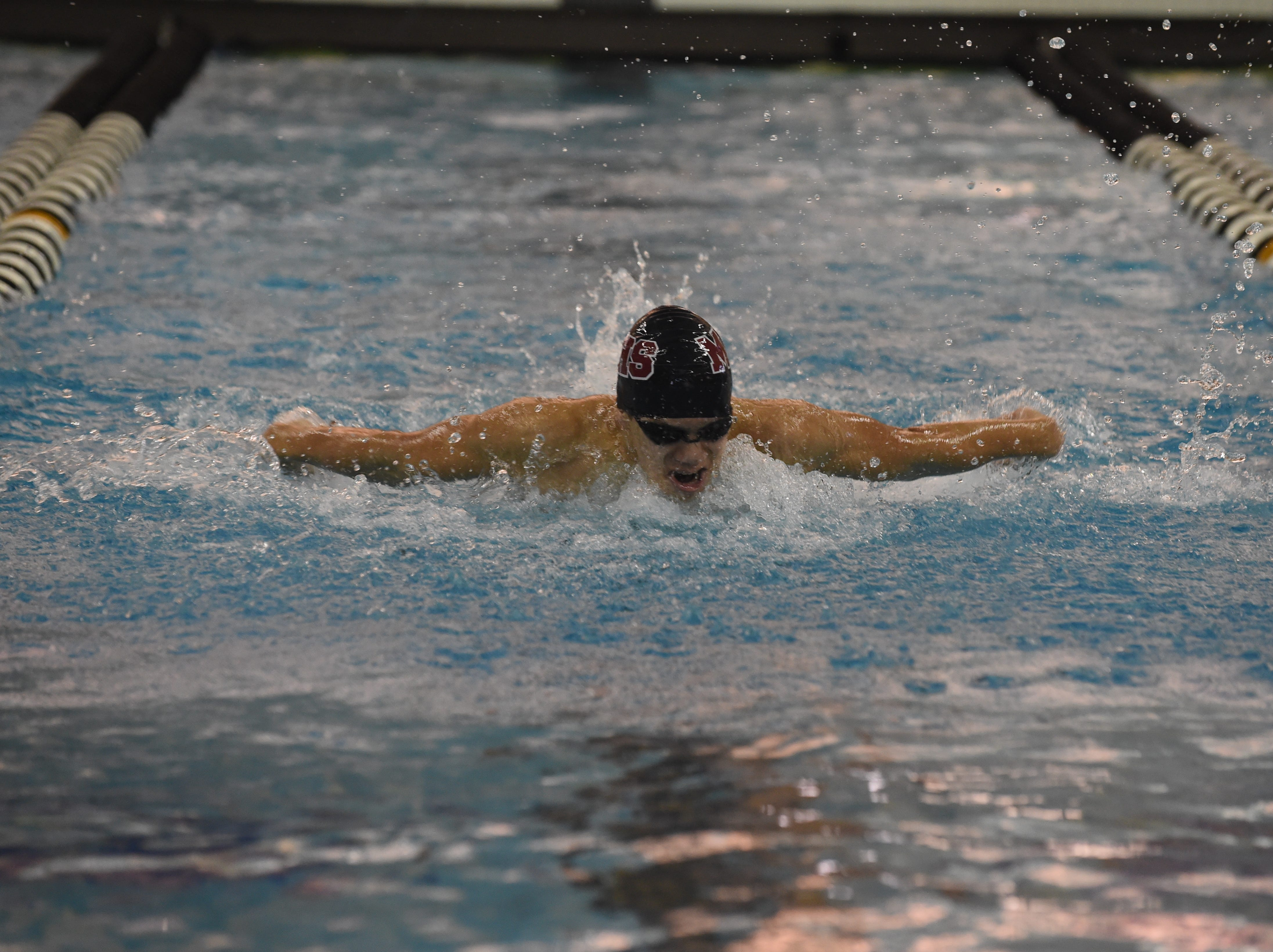 Images from Saturday's North Central Conference Swimming and Diving Championships at Purdue. Porfi Vasquez.