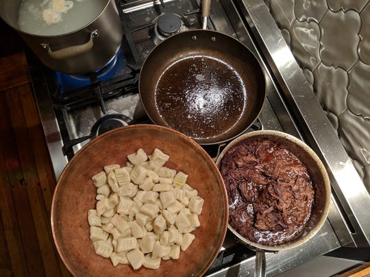 Dallas McGarity, the renowned chef behind The Fat Lamb and Portage House, stopped by food writer Dana McMahan's house to give her a cooking lesson on his famous gnocchi.