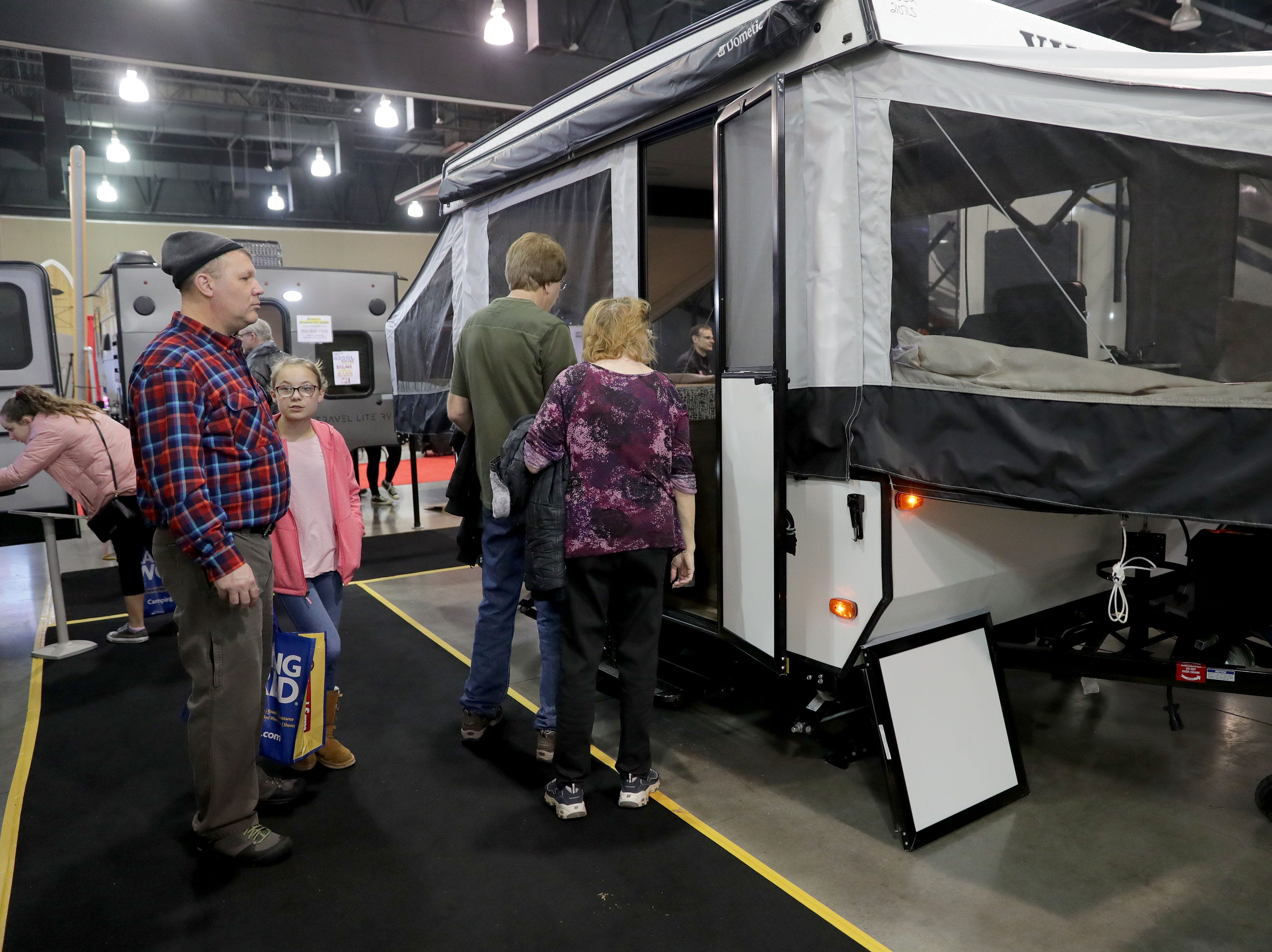 The Viking 2107 LS pop-up camper lists for $8,980.