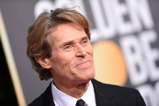 "Willem Dafoe, nominated for best actor in a motion picture drama for ""At Eternity's Gate,"" arrives at the 76th annual Golden Globe Awards Sunday night. Dafoe is an Appleton native; in the 1970s, he was active in Milwaukee theater at Theatre X and the University of Wisconsin-Milwaukee."