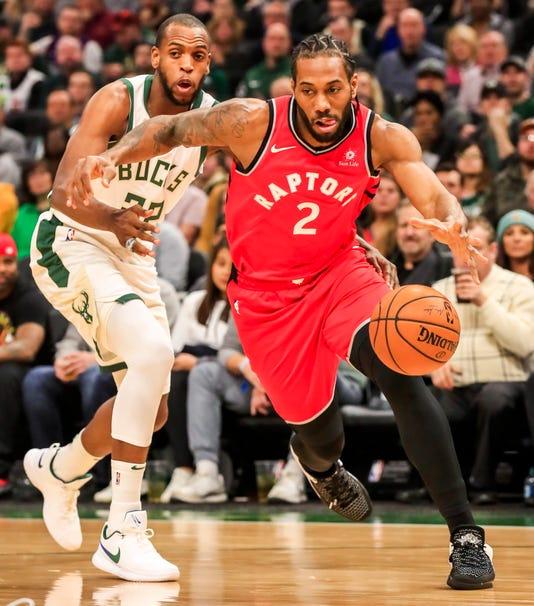 Toronto Raptors At Milwaukee Bucks