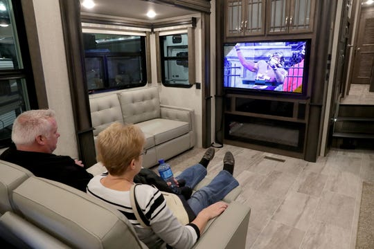 The Greater Wisconsin RV & Camping Show parks at the Wisconsin Center Friday through Sunday.