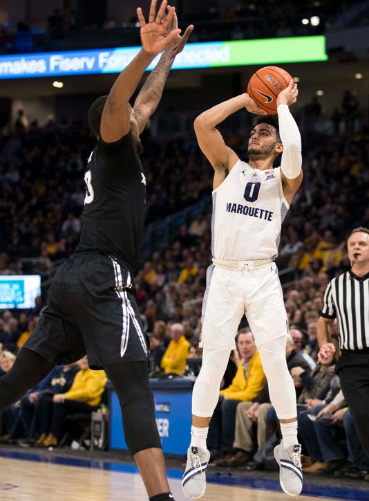 Ncaa Basketball Xavier At Marquette