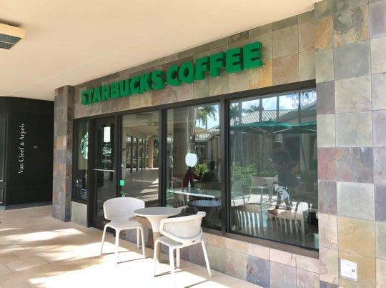 The Starbucks at Waterside Shops in North Naples will permanently close at 8 p.m. Friday, Jan. 11, 2018. The coffee shop has operated at the local open-air mall since April 2006.
