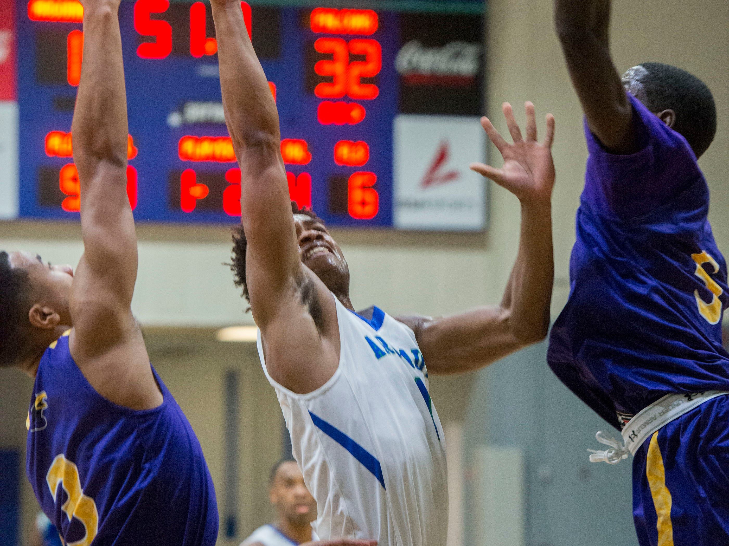 The West Florida Argonauts took on the Montevallo Falcons Saturday, January 5, 2019 at the UWF Field House.
