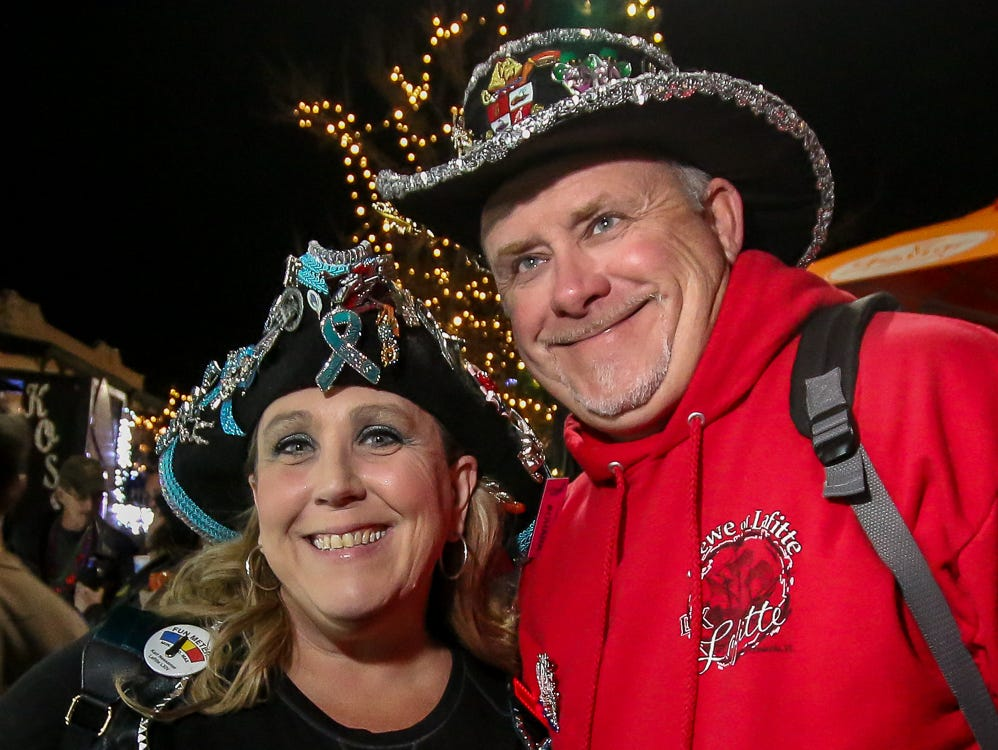 The 2019 Pensacola Mardi Gras season officially gets started during the annual kickoff celebration in downtown on Saturday, January 5, 2019.