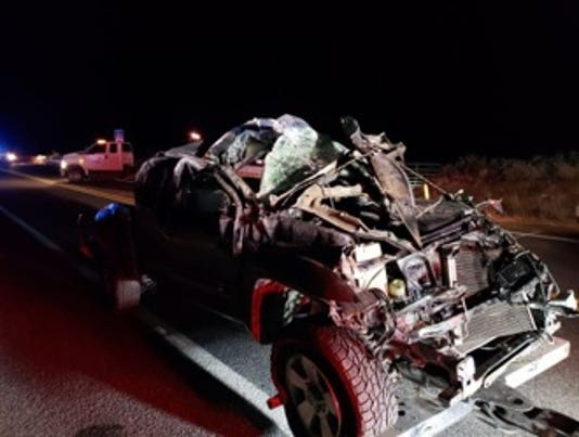 Prescott woman dies in rollover crash