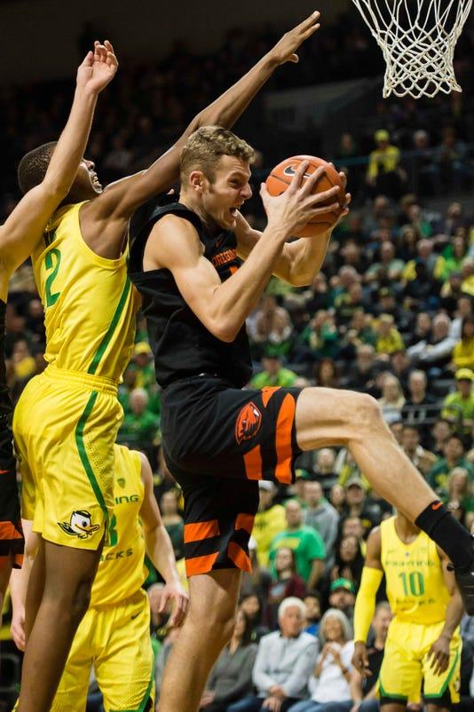 Ncaa Basketball Oregon State At Oregon