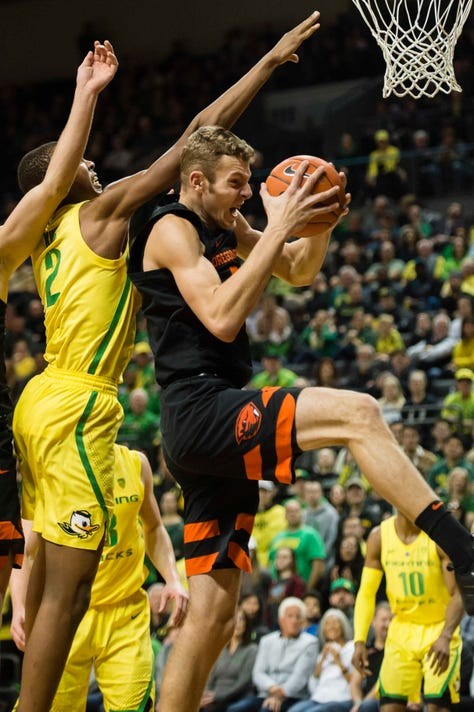 Ncaa Basketball Oregon State At Oregon