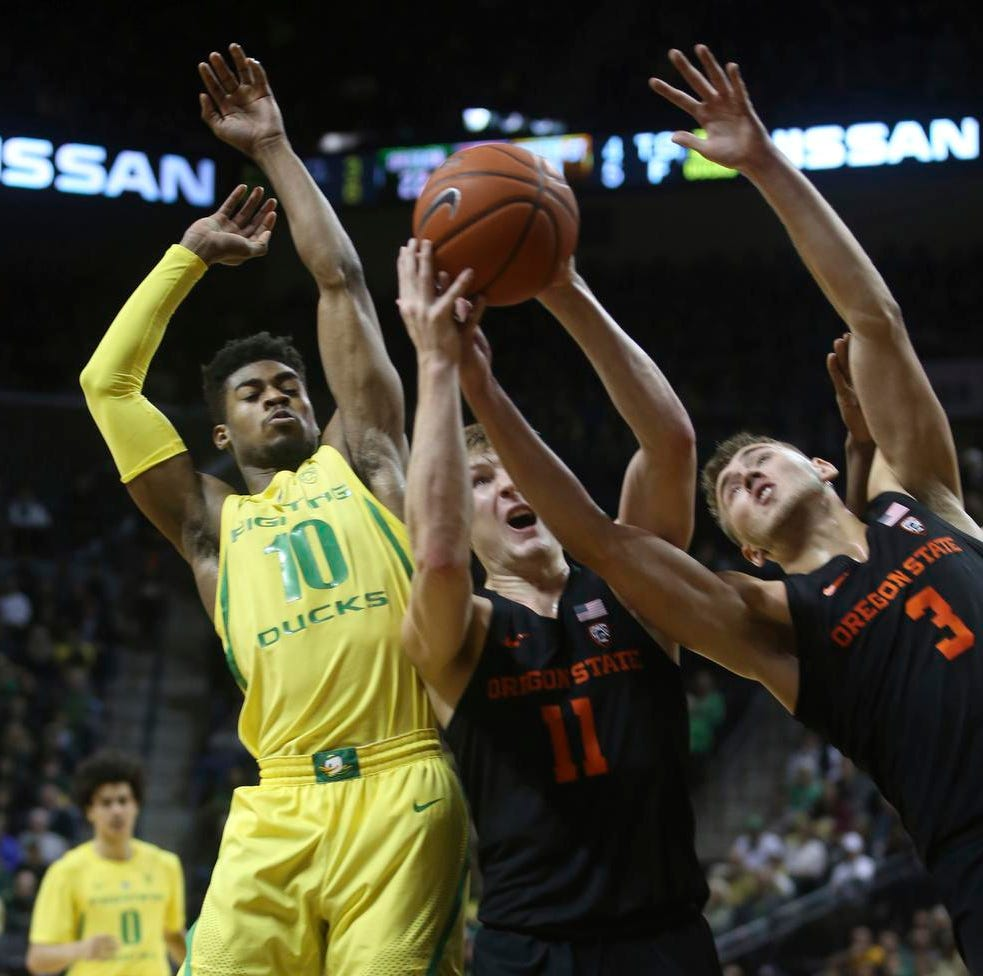 Live updates: Oregon Ducks basketball vs. Oregon State