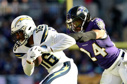 Chargers Ravens Football 003