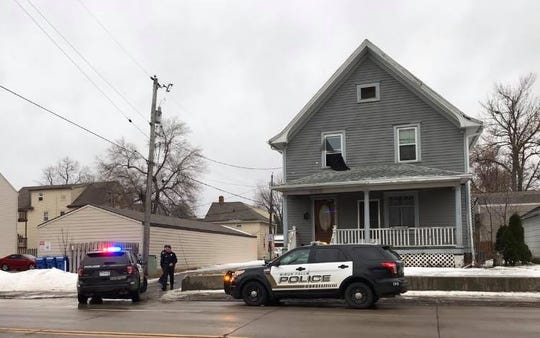 Police on scene after a fatal shooting was reported in the area of 14th Street and Fourth Avenue in central Sioux Falls.