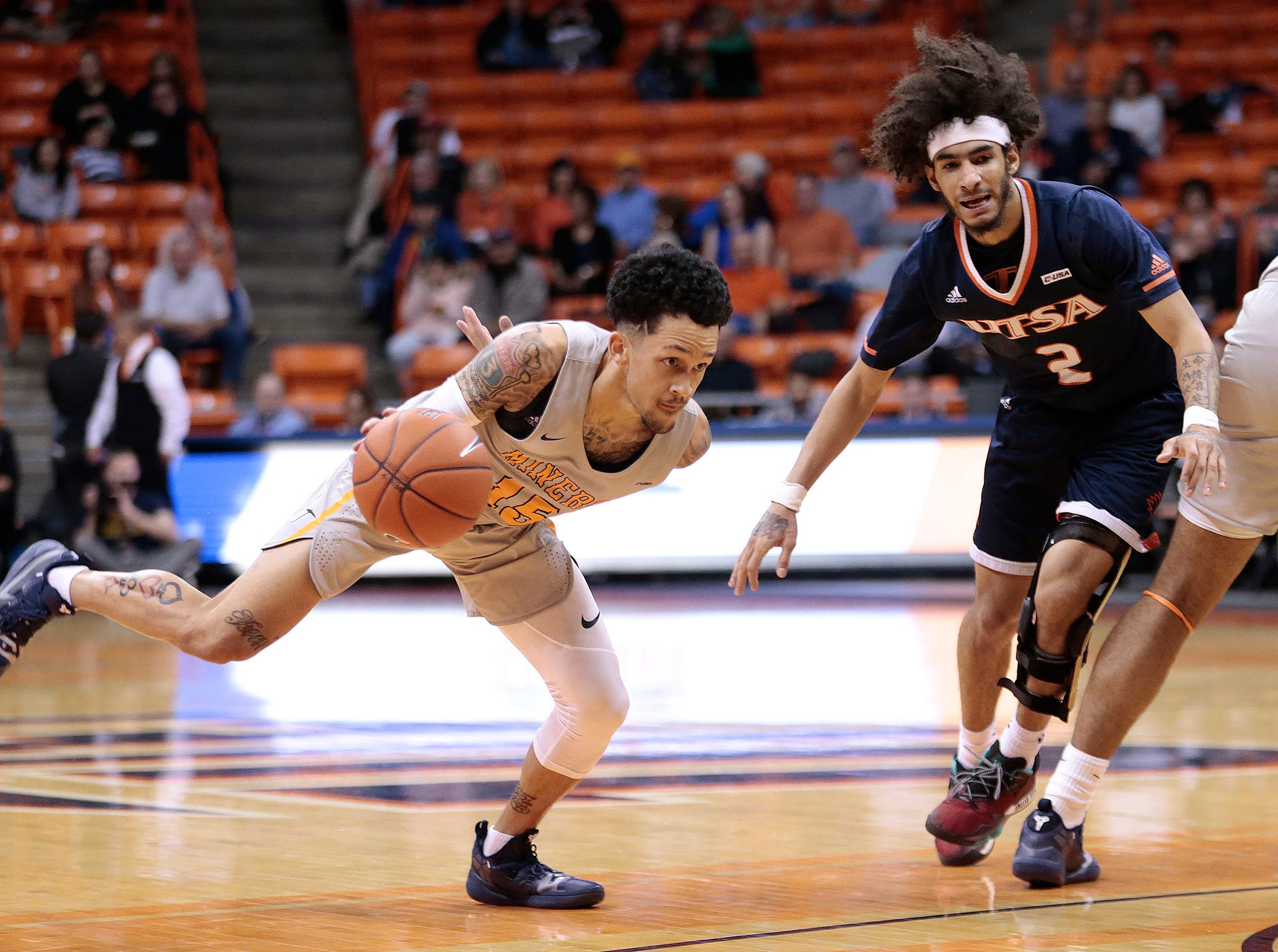UTEP loses a close game to UTSA Saturday at the Don Haskins Center. UTEP is coming off a road loss at UTSA.