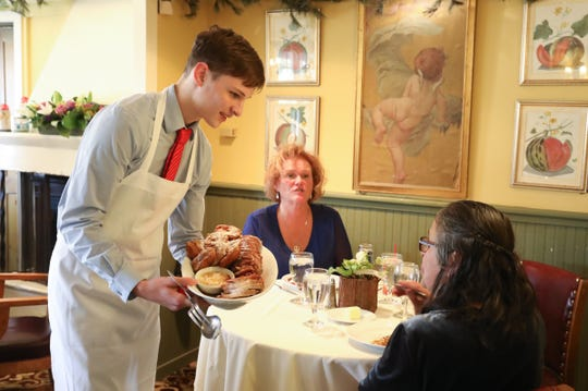 Expect a traditional Thanksgiving dinner at Restaurant X in Congers.