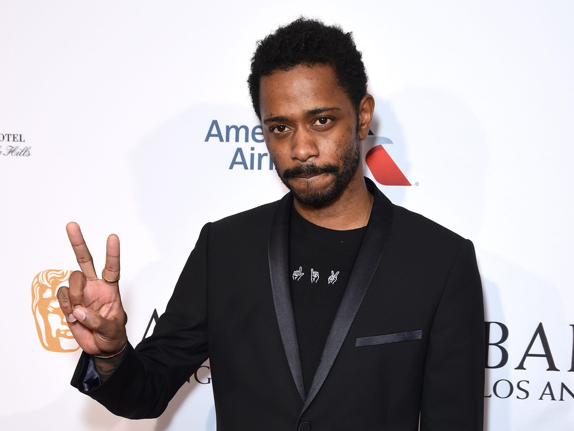 BEVERLY HILLS, CA - JANUARY 05:  Lakeith Stanfield attends the BBCA BAFTA Tea Party at Four Seasons Hotel Los Angeles at Beverly Hills on January 5, 2019 in Los Angeles, California.  (Photo by Presley Ann/Getty Images for BBCAmerica) ORG XMIT: 775276722 ORIG FILE ID: 1077923976