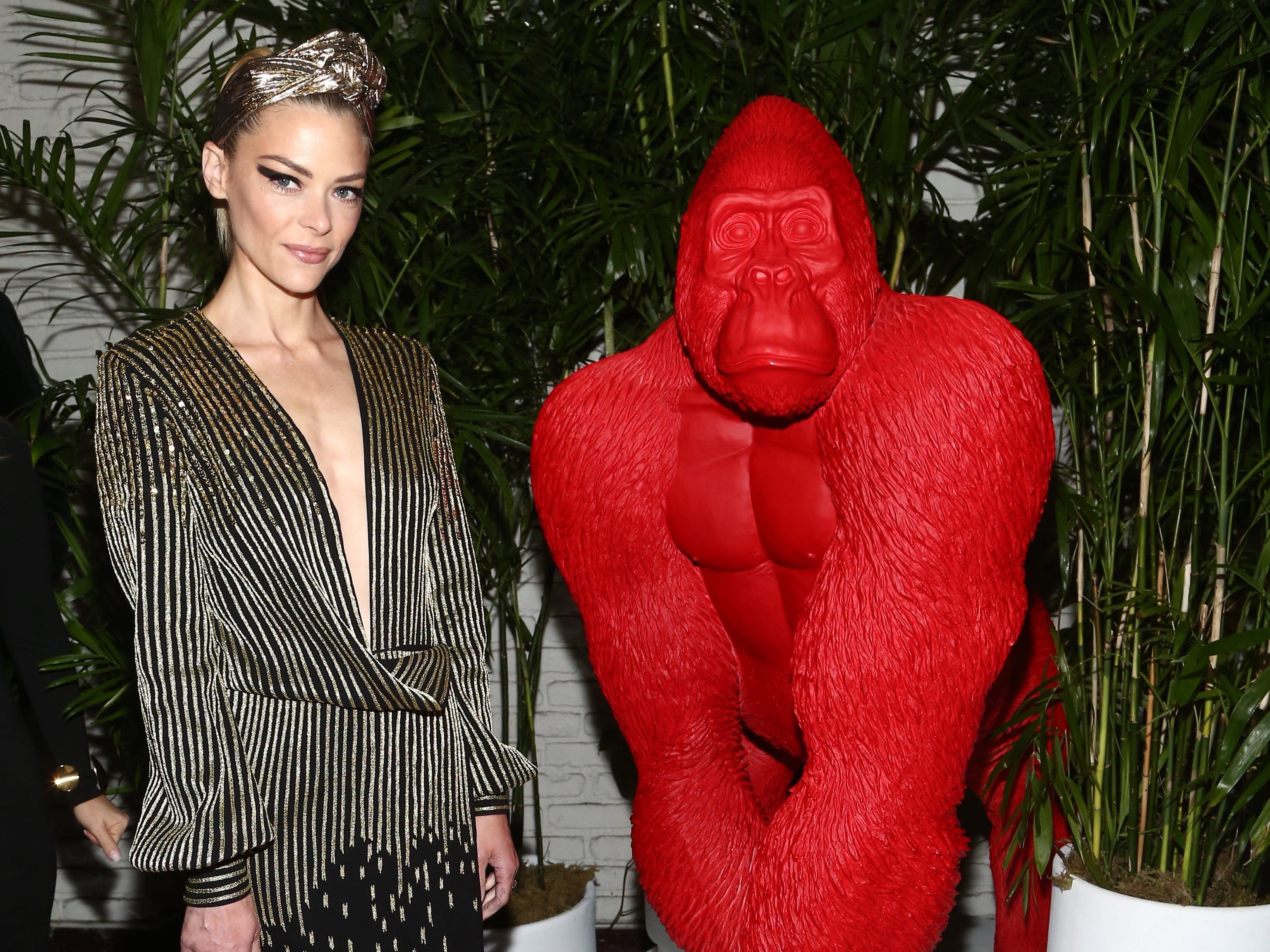 LOS ANGELES, CALIFORNIA - JANUARY 04: Jaime king attends the Giorgio Armani Beauty at Best Performances held at Chateau Marmont on January 04, 2019 in Los Angeles, California. (Photo by Tommaso Boddi/Getty Images for Giorgio Armani) ORG XMIT: 775276855 ORIG FILE ID: 1090008510