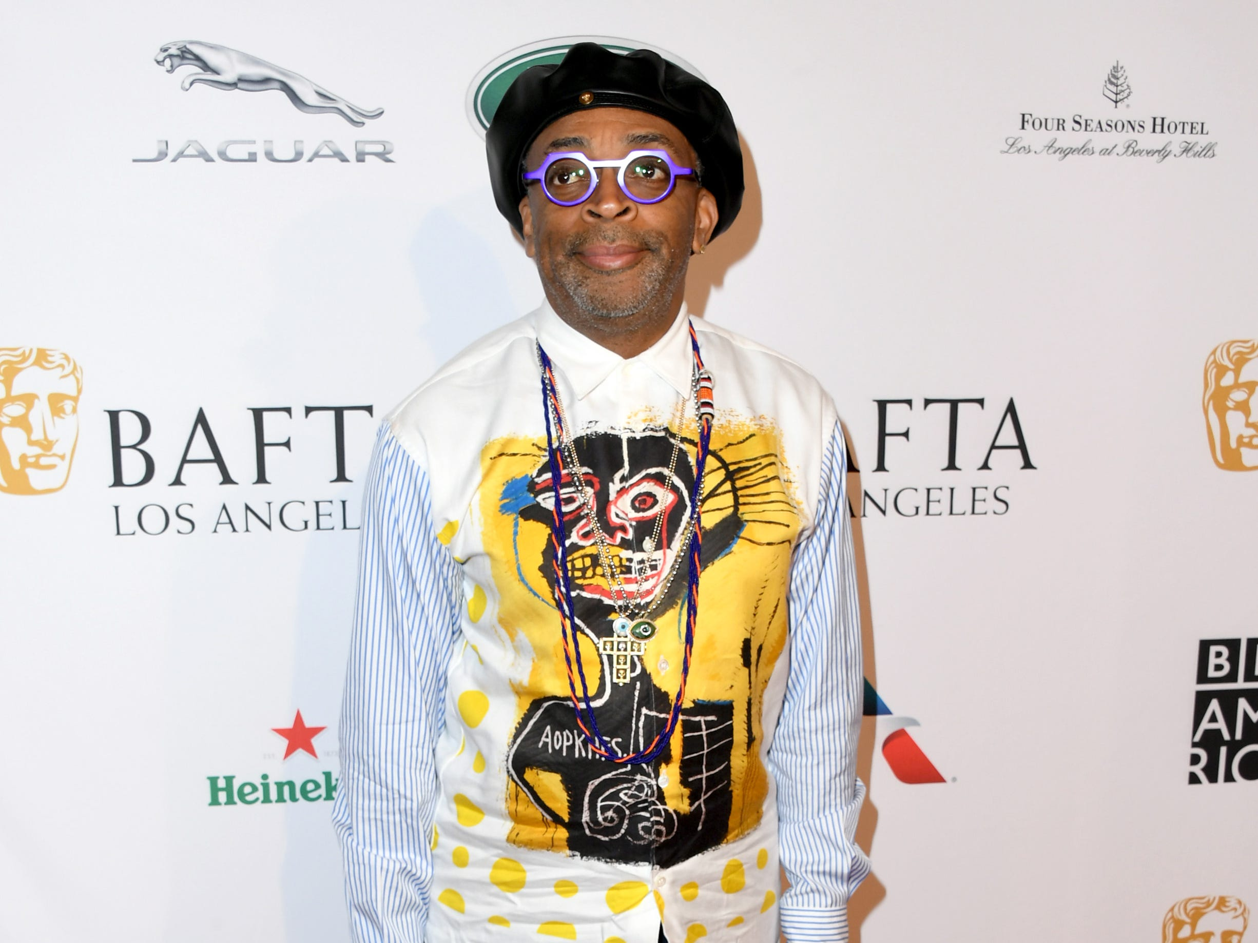 LOS ANGELES, CA - JANUARY 05:  Spike Lee attends The BAFTA Los Angeles Tea Party at Four Seasons Hotel Los Angeles at Beverly Hills on January 5, 2019 in Los Angeles, California.  (Photo by Jon Kopaloff/Getty Images) ORG XMIT: 775261683 ORIG FILE ID: 1077929402