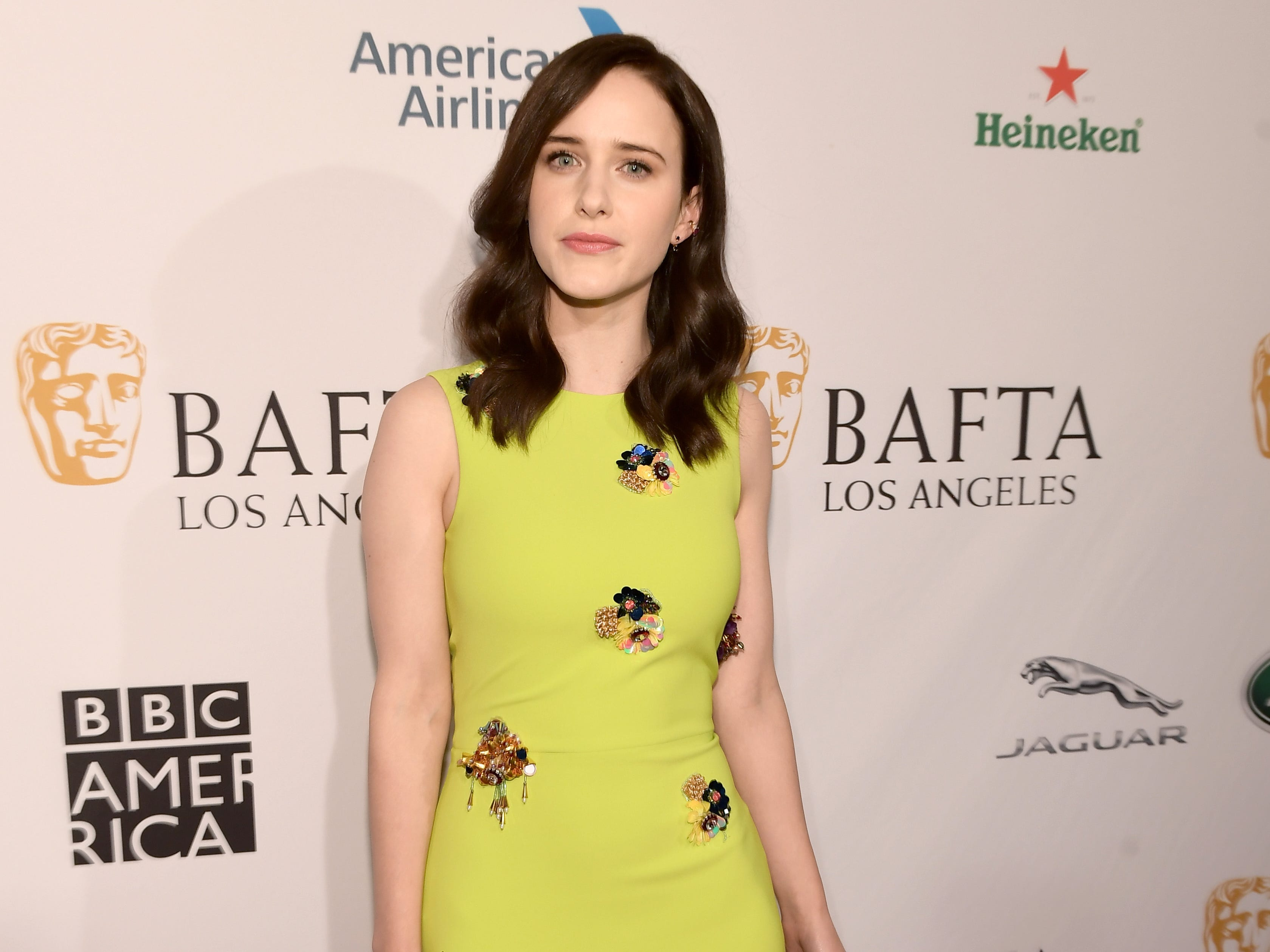 LOS ANGELES, CA - JANUARY 05:  Rachel Brosnahan attends The BAFTA Los Angeles Tea Party at Four Seasons Hotel Los Angeles at Beverly Hills on January 5, 2019 in Los Angeles, California.  (Photo by Matt Winkelmeyer/Getty Images) ORG XMIT: 775256316 ORIG FILE ID: 1077925674