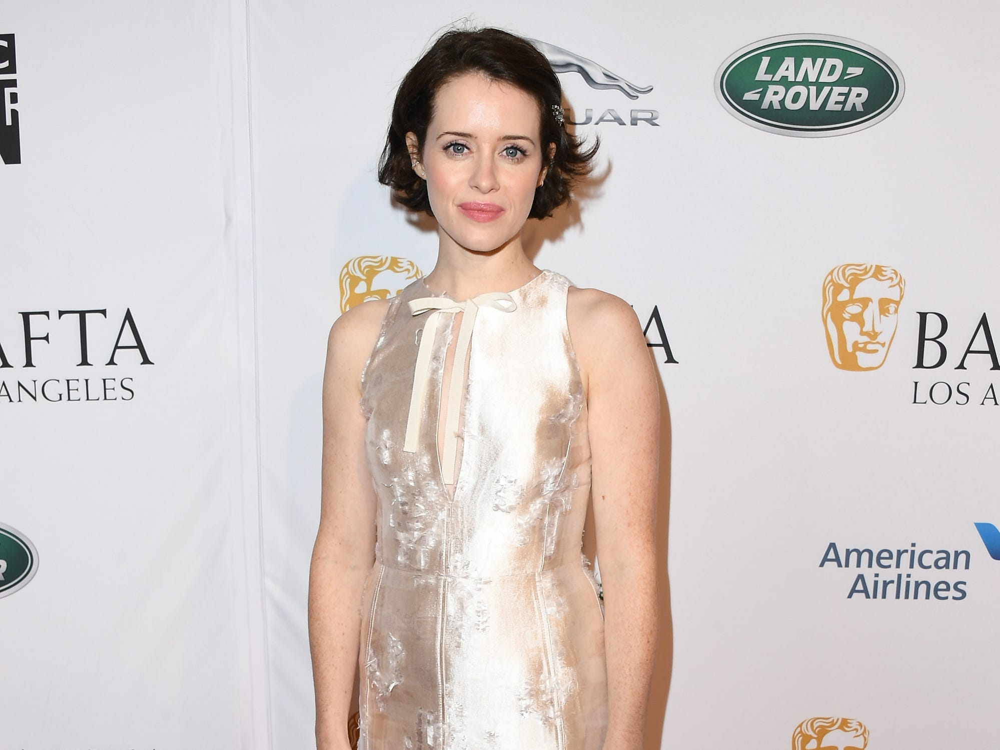 LOS ANGELES, CA - JANUARY 05:  Claire Foy attends The BAFTA Los Angeles Tea Party at Four Seasons Hotel Los Angeles at Beverly Hills on January 5, 2019 in Los Angeles, California.  (Photo by Jon Kopaloff/Getty Images) ORG XMIT: 775261683 ORIG FILE ID: 1077925212