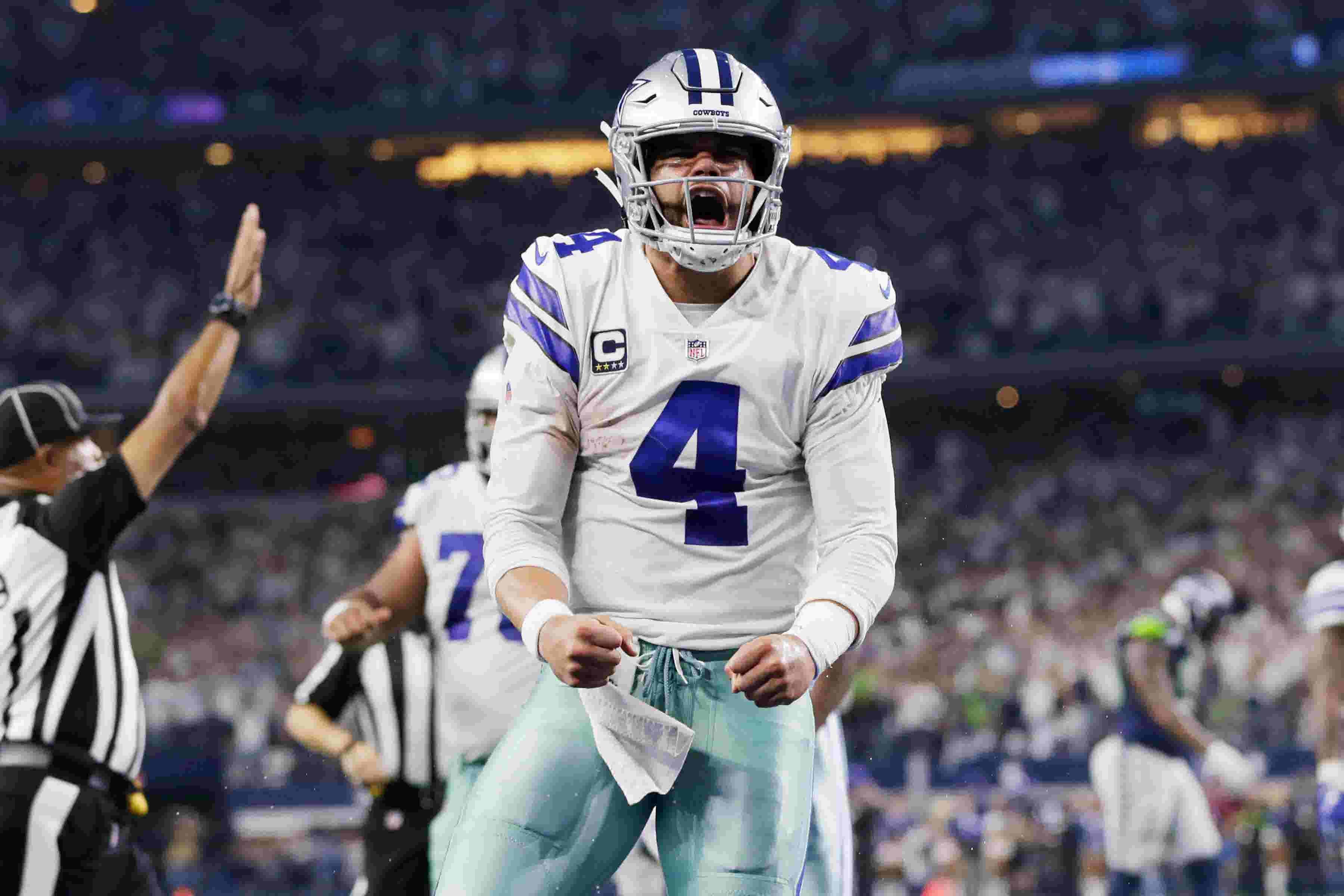 985b6f2aae0 Dallas Cowboys: Dak Prescott builds confidence for NFL playoff run