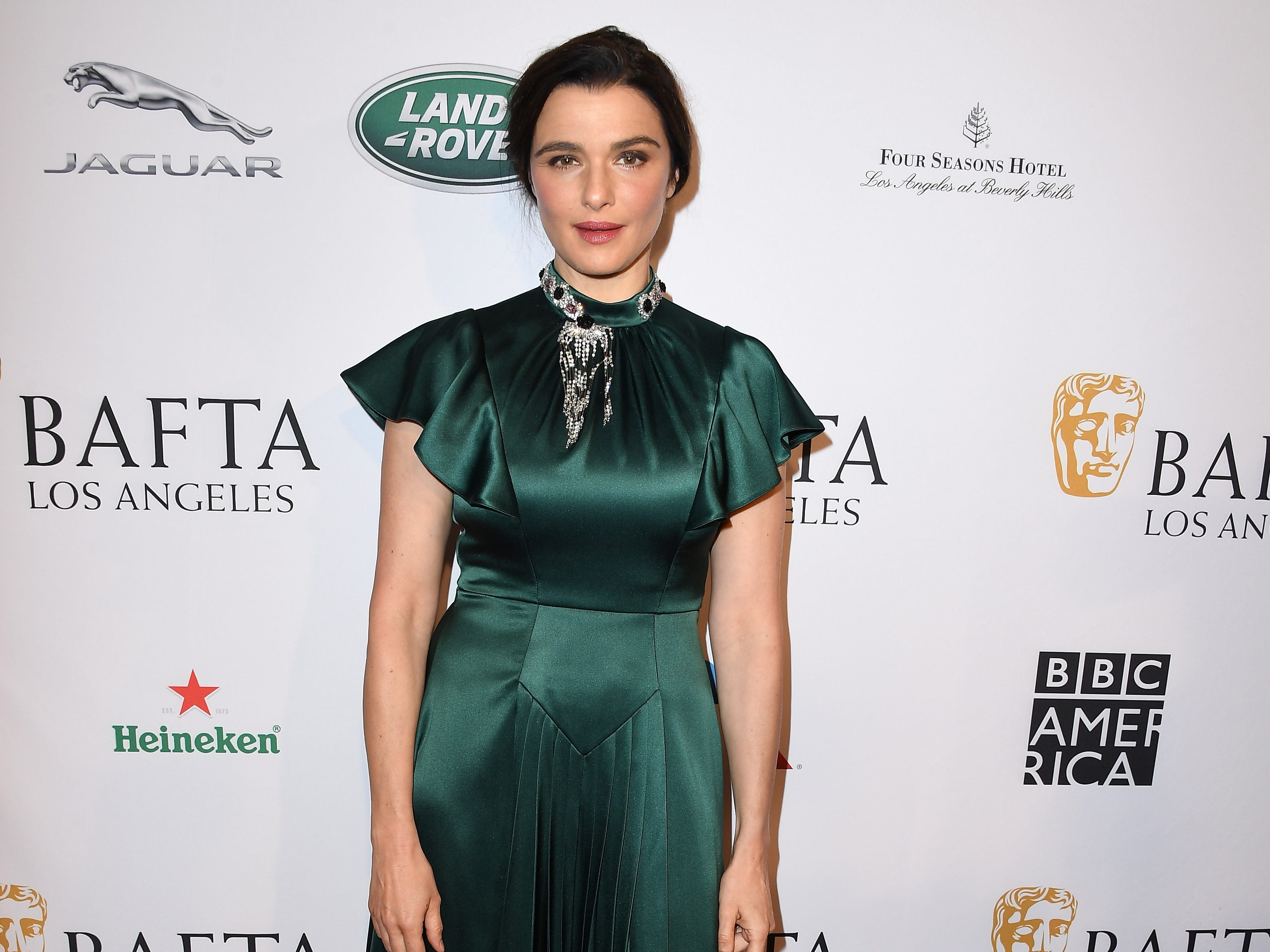 LOS ANGELES, CA - JANUARY 05:  Rachel Weisz attends The BAFTA Los Angeles Tea Party at Four Seasons Hotel Los Angeles at Beverly Hills on January 5, 2019 in Los Angeles, California.  (Photo by Steve Granitz/WireImage) ORG XMIT: 775261683 ORIG FILE ID: 1077928792
